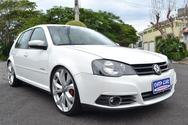 VW - VolksWagen Golf Sportline 1.6 Mi Total Flex 8V 4p